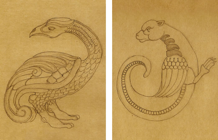 Phénix et dragon