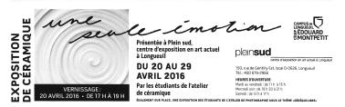Carton de l'exposition