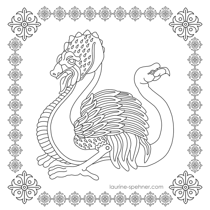 Dragon-autruche