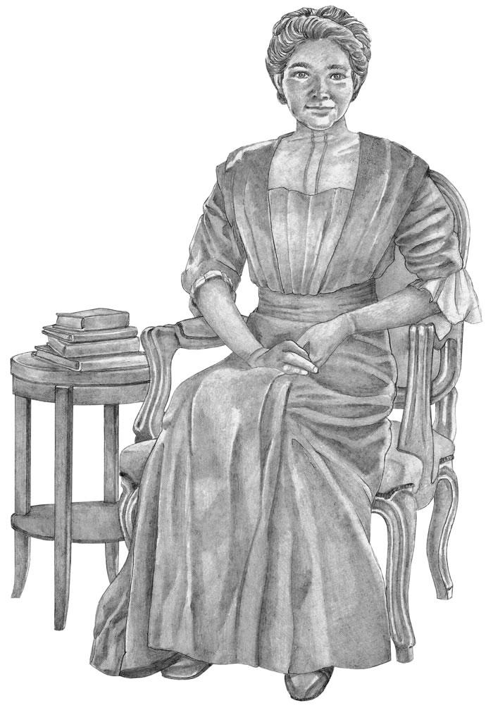 Mina Benson Hubbard - Scène d'intérieur